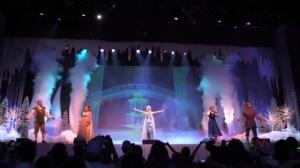 RAINHA DO GELO FROZEN THE LIVE MUSICAL